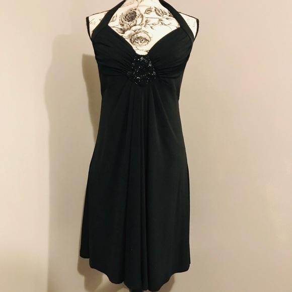 24e0098d78cc White House Black Market Dresses | Size 8 Halter Top Dress | Poshmark